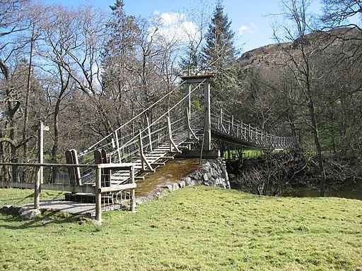 Glyn Bridge Powys Wales