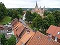 Godehardi-Kirche vom Kehrwiederturm, Hildesheim - panoramio.jpg
