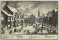 Goettingen - Marktplatz und Weender Strasse im Schnee (1747).png