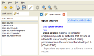 GoldenDict - GoldenDict screenshot.