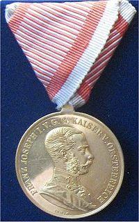 Medal for Bravery (Austria-Hungary) Austro-Hungarian medal for bravery
