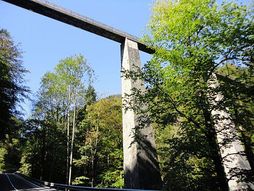 Gosauzwangbrücke Soleleitung