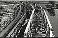 Gradnja železniškega mostu preko reke Sane - Bosanski novi.jpg