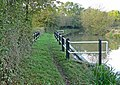 Grand Union Canal and towpath - geograph.org.uk - 597606.jpg