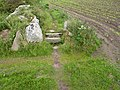Granite field stile - panoramio.jpg