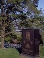 Gravesite at Arlington National Cemetery, Arlington, Virginia LCCN2011632261.tif