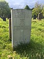 Gravestone of Driver Frank Stacey of the Royal Field Artillery at Cathays Cemetery, May 2020.jpg