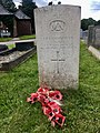 Gravestone of Master John Patrick Cunningham of the Merchant Navy at Pantmawr Cemetery, July 2020.jpg