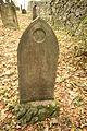 Gravestones at Jewish Cemetery in Dřevíkov, Chrudim District 27.JPG
