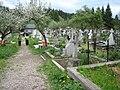 Graveyard outside Voronet Monastery, Bucovina.jpg