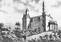 Gravure du Temple du Fleix en 1840.jpg