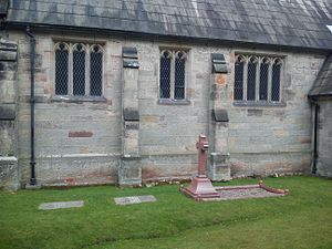 Great Haywood - Anson family graves at St Stephen's Church churchyard