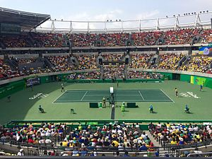 GreenSet - Tennis court at the 2016 Olympic Games