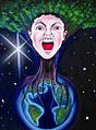 Green Woman Tries to Breathe (Where I Come From) by Phyllis Araneo.jpg