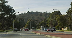 Greenmount, Western Australia - Greenmount Hill from the Great Eastern Highway