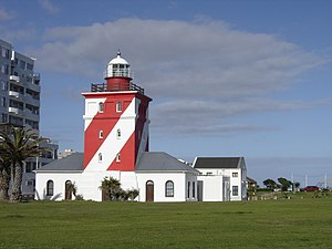 Greenpoint Lighthouse, Cape Town, South Africa, Completed 1824