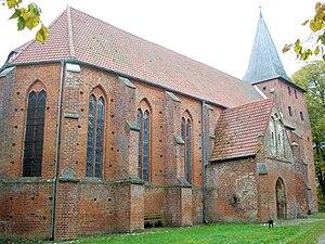 Gägelow - Image: Gressow Kirche 1