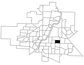 Greystone Heights location map