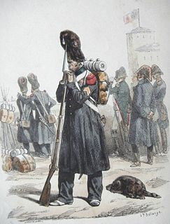 Imperial Guard (Napoleon I) Elite soliders of Napoleons Grande Armée