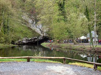 Caves of Han-sur-Lesse - Image: Grotten van Han uitgang