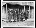 Group of officers at Acquia Creek, February, 1863 LCCN95518636.jpg