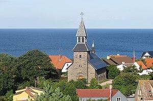 Gudhjem Church - Image: Gudhjem Kirke