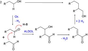 Guerbet reaction - Guerbet Reaction Mechanism