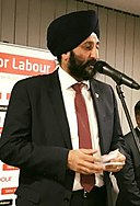 Gurinder Josan at a Sikhs for Labour Event (cropped).jpg