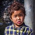 Gurung (Tamu) Kid at Dana,Nepal-Wiki Loves Villages-0604.jpg