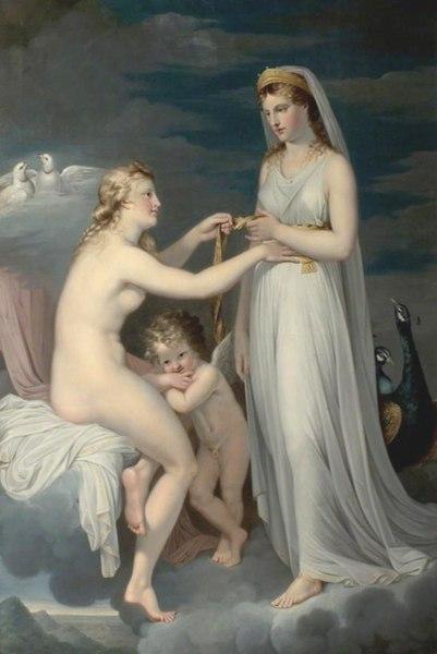 File:Guy Head - Juno Borrowing the Girdle of Venus.jpg