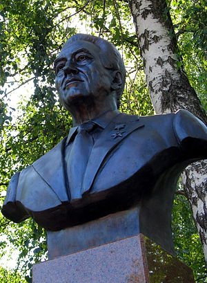 Guy Severin - Bronze bust of Guy Severin
