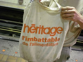 Héritage - A bag with the logo of Héritage