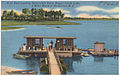 H-15. Boat Landing Satterwhite Point, Bugg's Island Lake, 6 miles North of Henderson, N. C. (5755499349).jpg