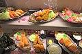 HK 元朗 Yuen Long 形點 Yoho mall shop food samples display deep oil fried shrimp Nov 2018 IX2.jpg
