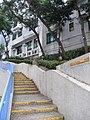 HK CityU To Yuen Building outdoor stairs to Shek Kip Mei Sept-2012.JPG