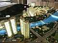 HK Shatin 大圍 溱岸8號 Riverpark showflat building model n Shing Mun River Channel at Discovery Park Tsuen Wan Dec-2012.JPG