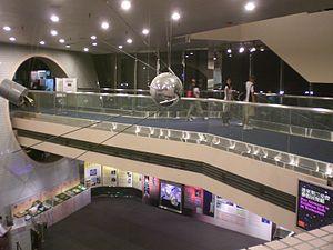 Hong Kong Space Museum - Museum lobby