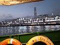HK TST Star Ferry Victoria Harbour view Ocean Terminal night January 2020 SS2 02.jpg