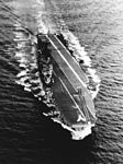 HMAS Melbourne (R21) underway at sea on 13 December 1955.jpg