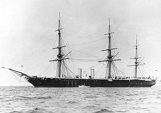 Robert Napier and Sons - HMS Black Prince in the 1880s