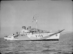 SS Fort Stikine - Image: HMS Borage FL2711