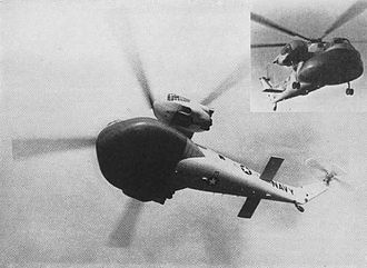 Sikorsky CH-37 Mojave - HR2S-1W early warning helicopter