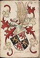 Haertoch van Brabant - Hertog van Brabant - Duke of Brabant - Wapenboek Nassau-Vianden - KB 1900 A 016, folium 27r.jpg