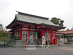 鹿島御児神社拝殿
