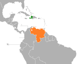 embajada haiti venezuela relationship