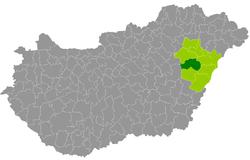 magyarország térkép hajduszoboszlo Hajdúszoboszlói járás – Wikipédia magyarország térkép hajduszoboszlo