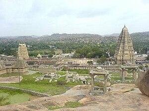 Temples of North Karnataka - Virupaksha temple, Hampi in Bellary District, North Karnataka