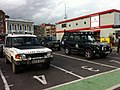 Hampshire 4x4 response at Southampton Red Funnel ferry terminal during Isle of Wight Festival 2012 2.jpg