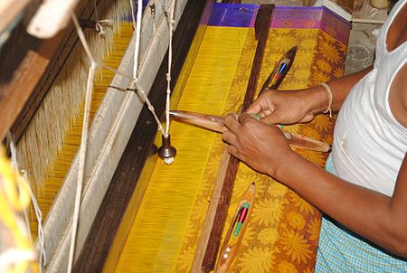 Hand loom in Devikapuram.jpg