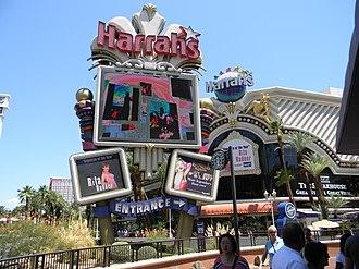 Harrah's Las Vegas - Harrah's Las Vegas sign in 2010